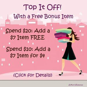 Top It Off: Add a Free Bonus to Your Order!